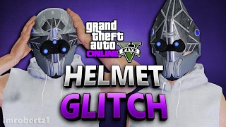 GTA 5 Online - Juggernaut Helmet Night Vision Goggles Bulletproof Helmet Glitch (GTA 5 Glitches)