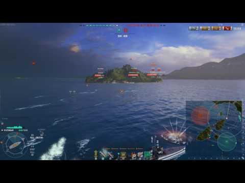 World of Warships Izyaslav 117k damage + Kraken