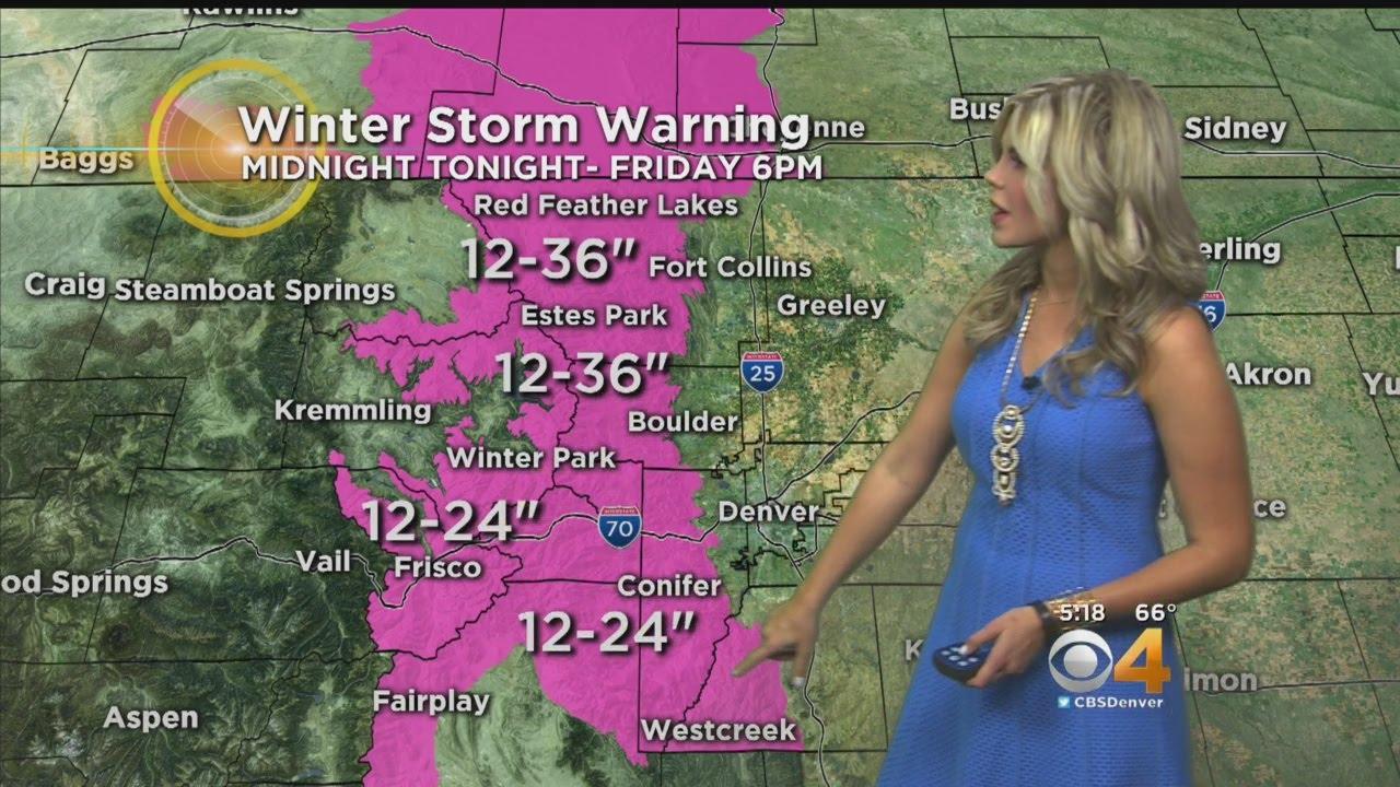 Denver Weather: Historic Storm Brings Rain Tonight, Blizzard Tomorrow