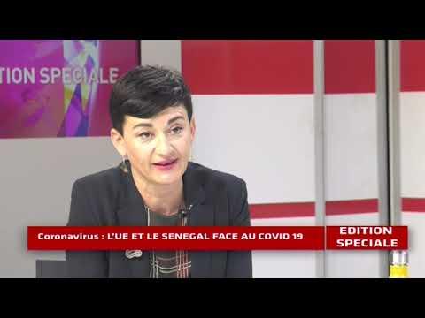 Edition Spéciale - L' UE et le Sénégal face au COVID 19 - Pr : CHERIF DIOP - 25 Mars 2020