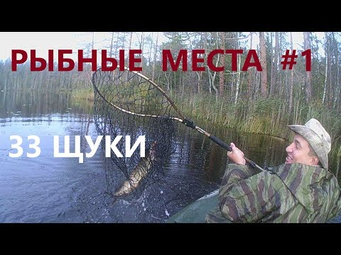 Раскрываем рыбные места