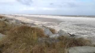 Scratby rough sea
