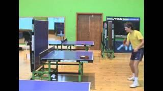 Table Tennis - упражнения для защитников