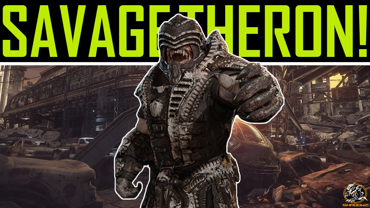 Gears of War: Ultimate Edition Savage Theron Guard Gameplay ...