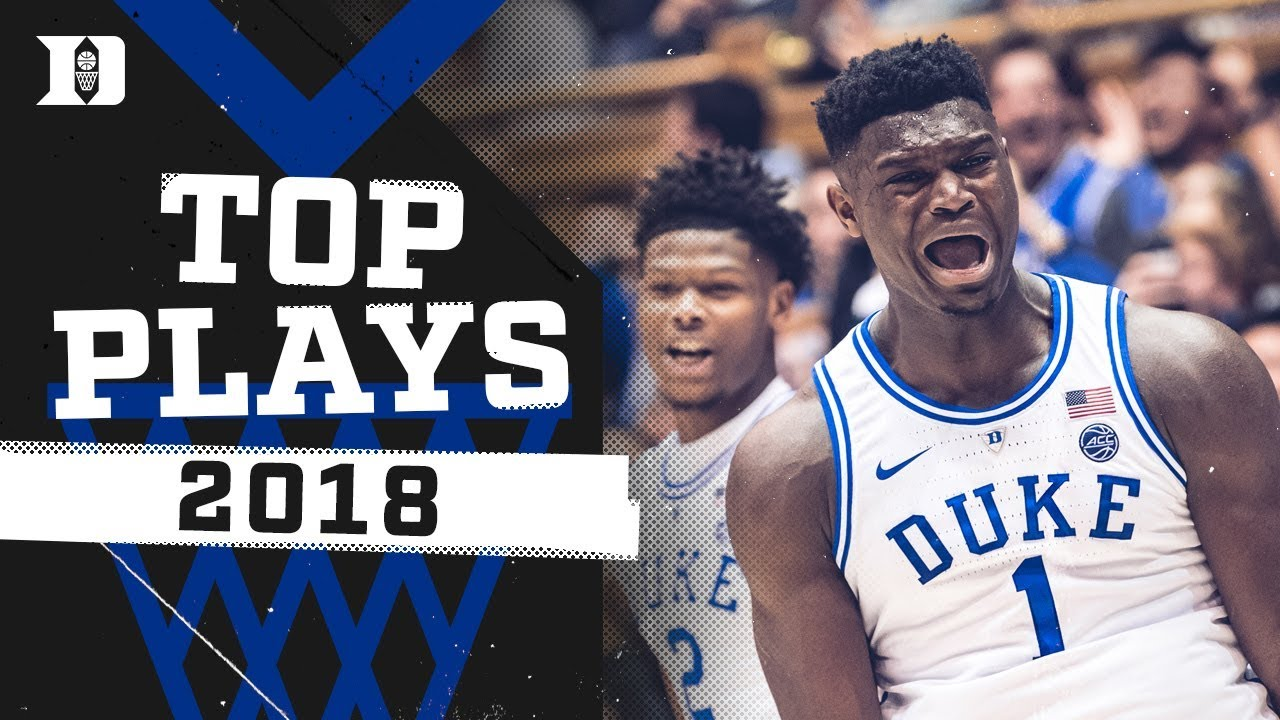 Duke Basketball: Top 10 Plays of 2018! - YouTube