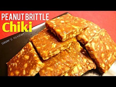 peanut brittle or chiki recipe