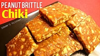 peanut brittle or chiki recipe