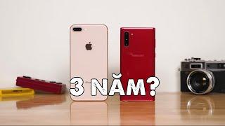 Mua điện thoại dùng 3 năm - iPhone 8+ hay Samsung Galaxy Note 10?