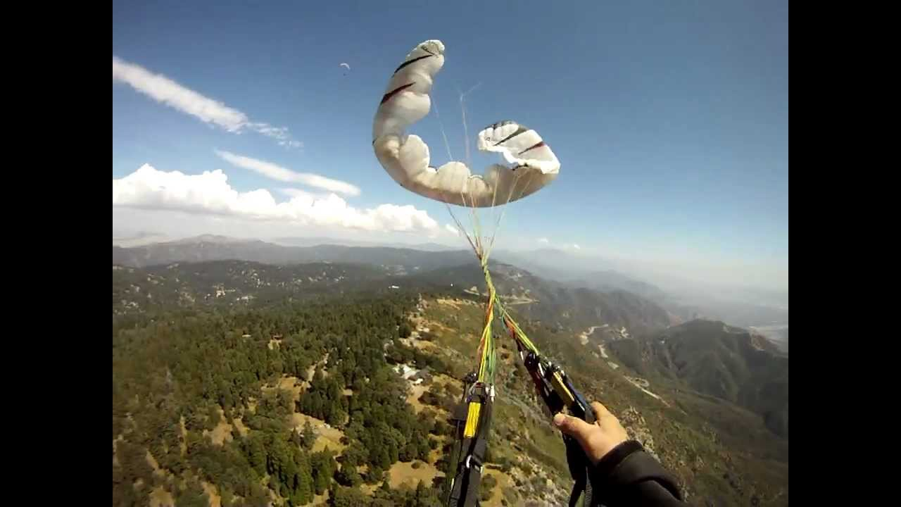 Reserve Parachute Toss W A Twist Of Lines 91111 YouTube