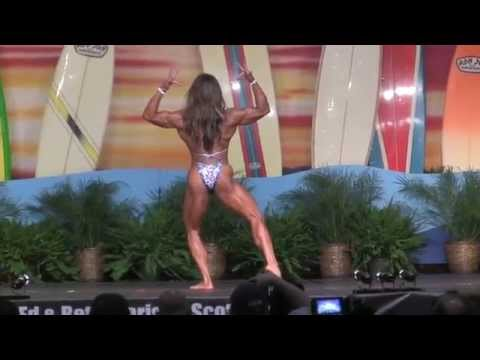 IFBB Pro Women's Physique All Competitors 2015 Europa Games Orlando