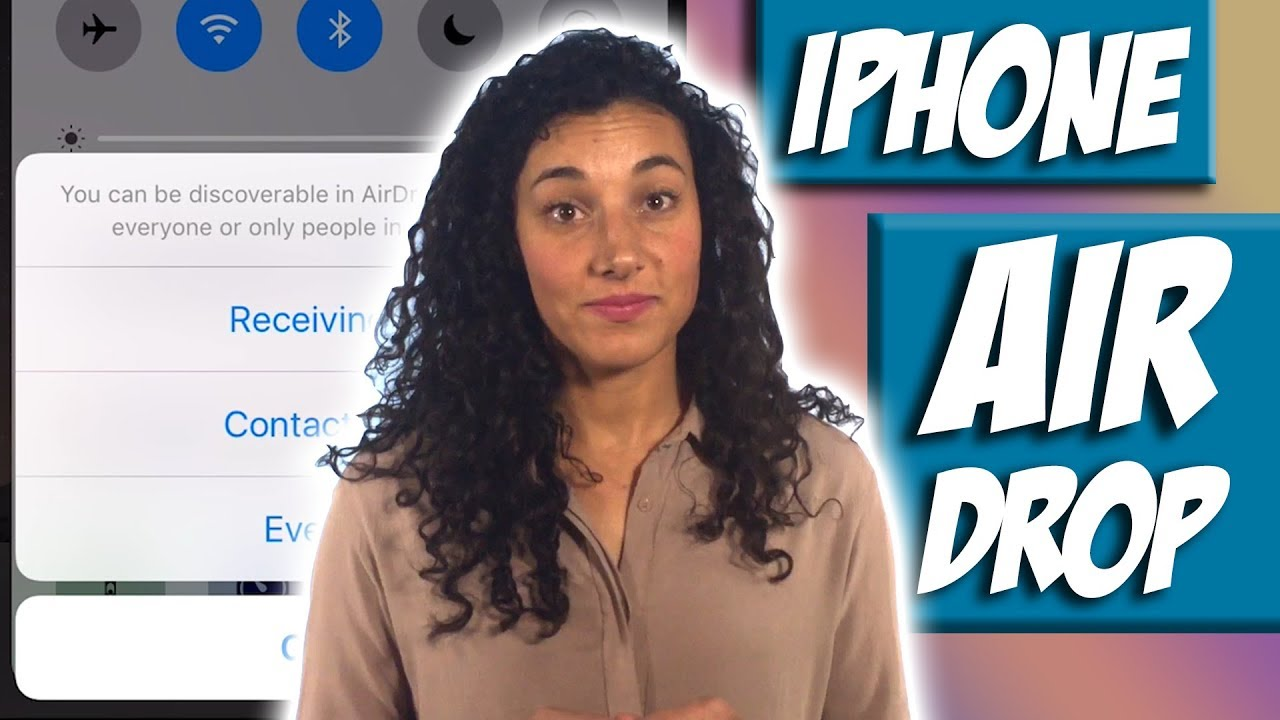 How To Use Airdrop On Iphone To Share Content