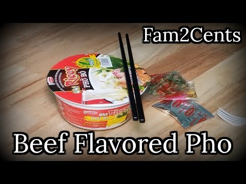 Beef Flavored Pho Bowl
