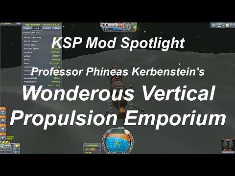 KSP Mod Spotlight - Vertical Propulsion Emporium