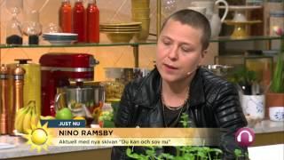 """Nino Ramsby: """"Alla skäms när de säger fel"""" - Nyhetsmorgon (TV4)"""