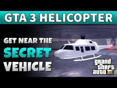 GTA 3 Helicopter | HOW TO GET NEAR THE HELICOPTER FROM GTA 3 LAST MISSION (Without Cheats)