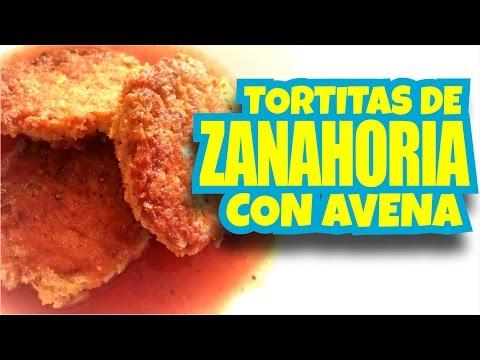 TORTITAS DE AVENA CON ZANAHORIA