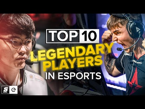 The Top 10 Esports Players Of All Time