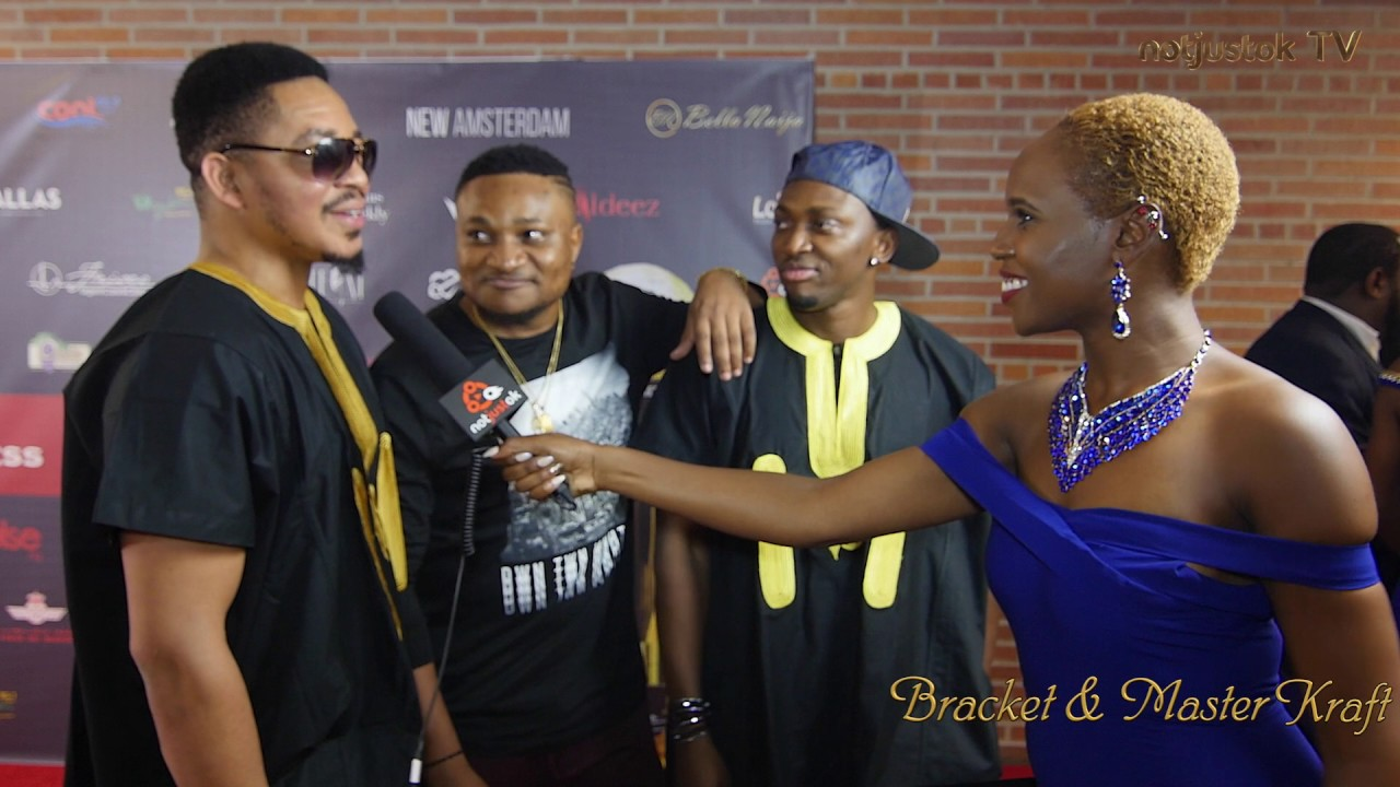 Download Bracket & MasterKraft on The Red Carpet | Afrimma 2016 | Notjustok TV