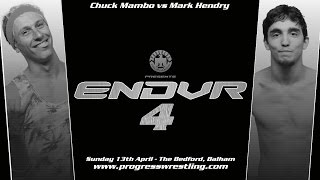 FULL MATCH: Chuck Mambo vs Mark Hendry Thumbnail