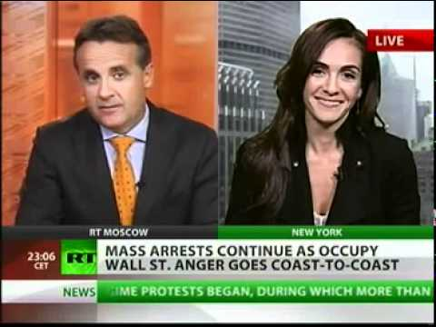 OWS hundreds arrested, thousands join in.