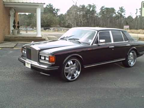 Clic Rolls Royce with 22's - Take A Look!!! - YouTube