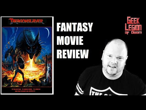 DRAGONSLAYER ( 1981 )  Fantasy Movie review