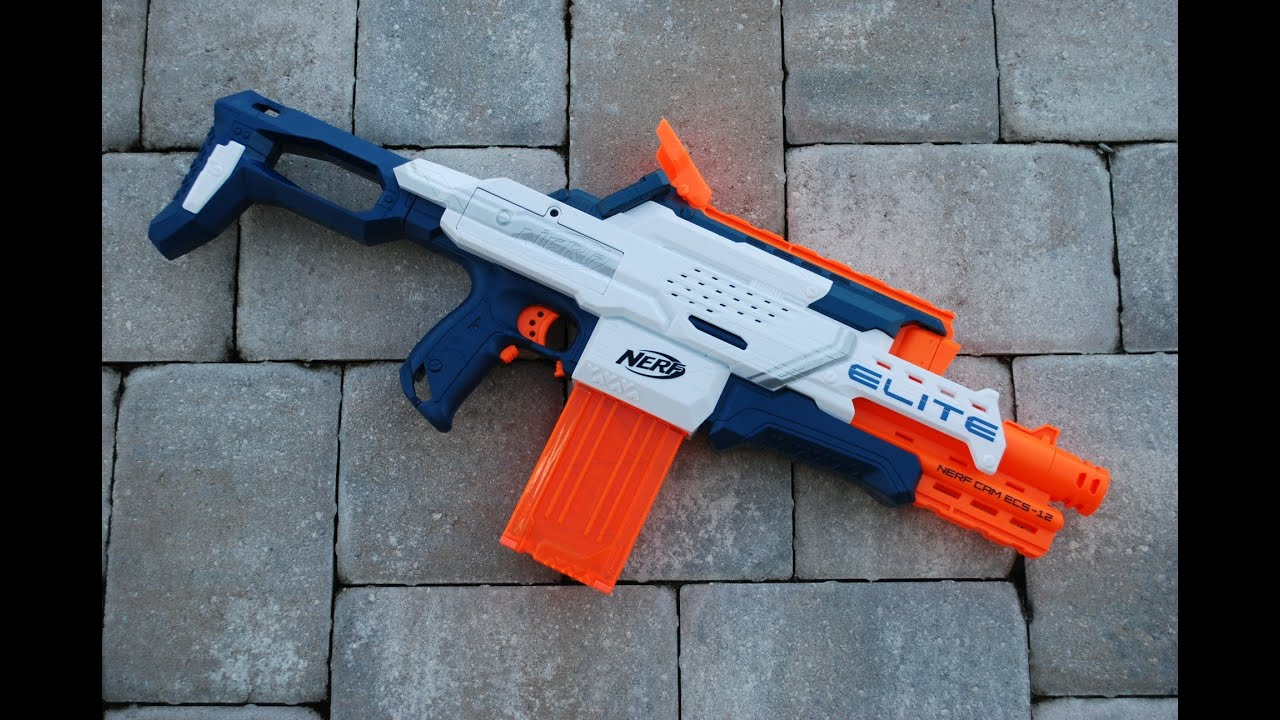 [REVIEW] Nerf Elite Nerf Cam ECS 12 Unboxing Review & Firing Test