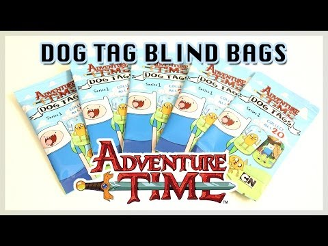 Adventure Time Dog Tag Surprise Blind Bags - Round 2!!!