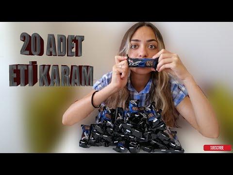 20 TANE ETİ KARAM-5360 KCAL!