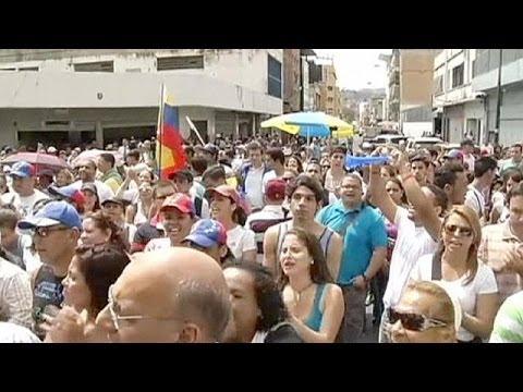 L'opposition vénézuélienne mobilisée pour Leopoldo López
