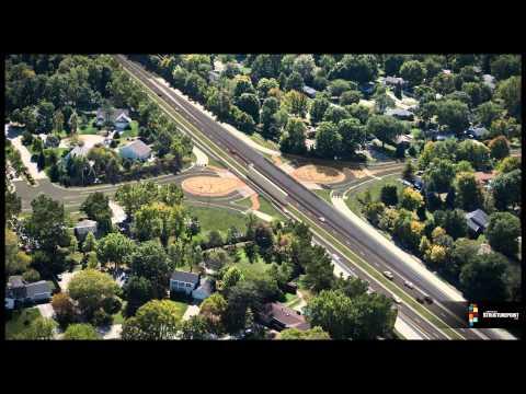 Roundabout Construction Animation - Keystone & 131st Street