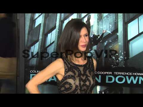 Finola Hughes at Dead Man Down Los Angeles Premiere 2/26/...