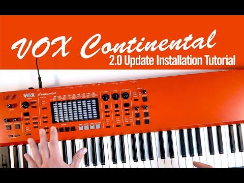 VOX Continental 2.0 Update Installation Tutorial