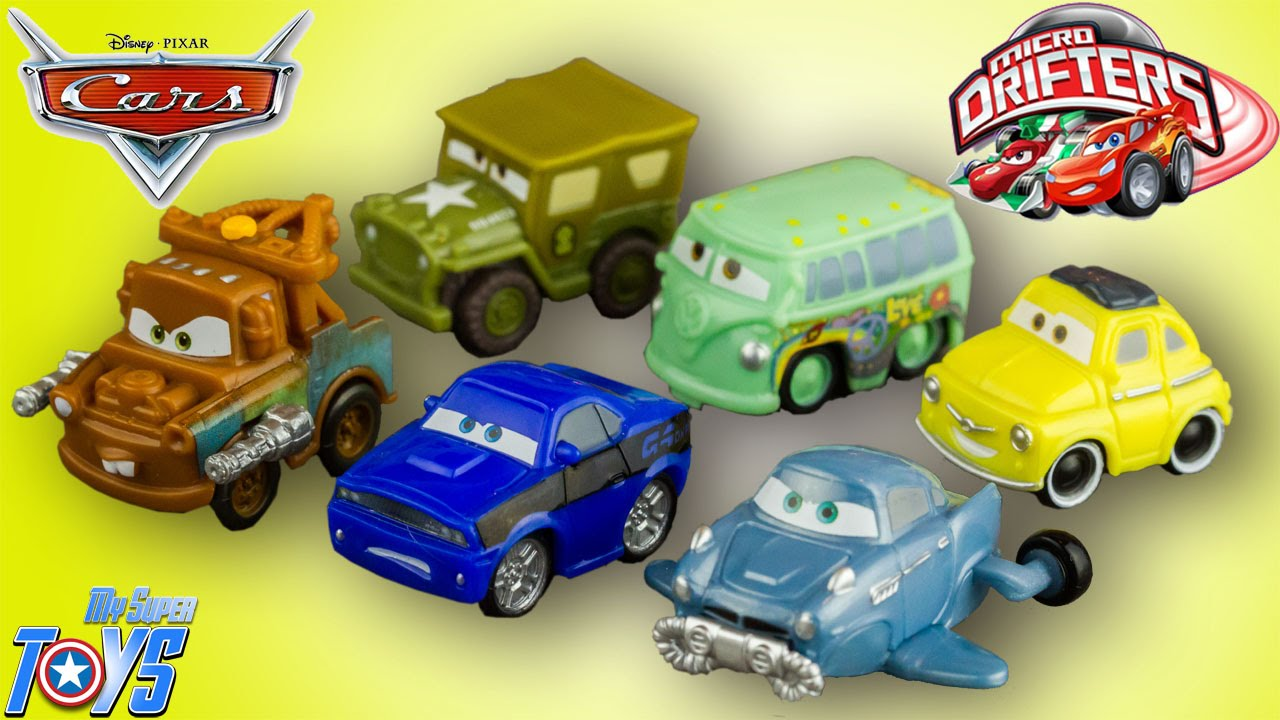 Cars  Micro Drifters Radiator Springs