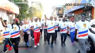 Videoclip Antorcha Juegos Nacionales 2018 Recorrido San Cristobal