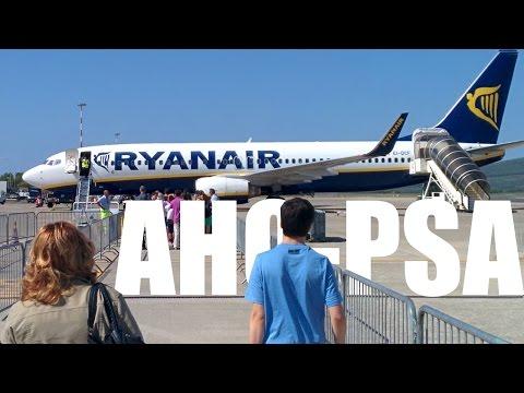 Ryanair - Alghero (Sardegna, Italy) To Pisa - FR9927
