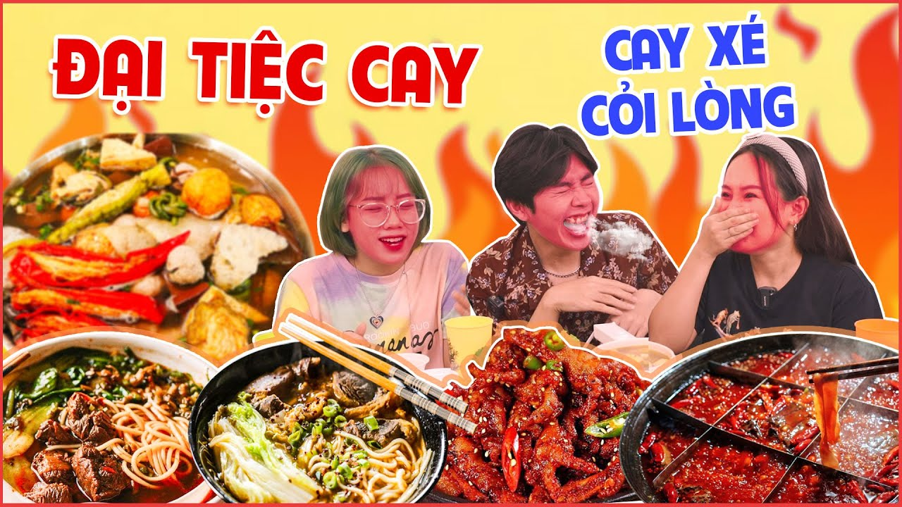 HNAG - Đại tiệc đồ cay từ Đài Loan tới Hàn Quốc 🌶 Cay Tan Nát Cõi lòng !!!!