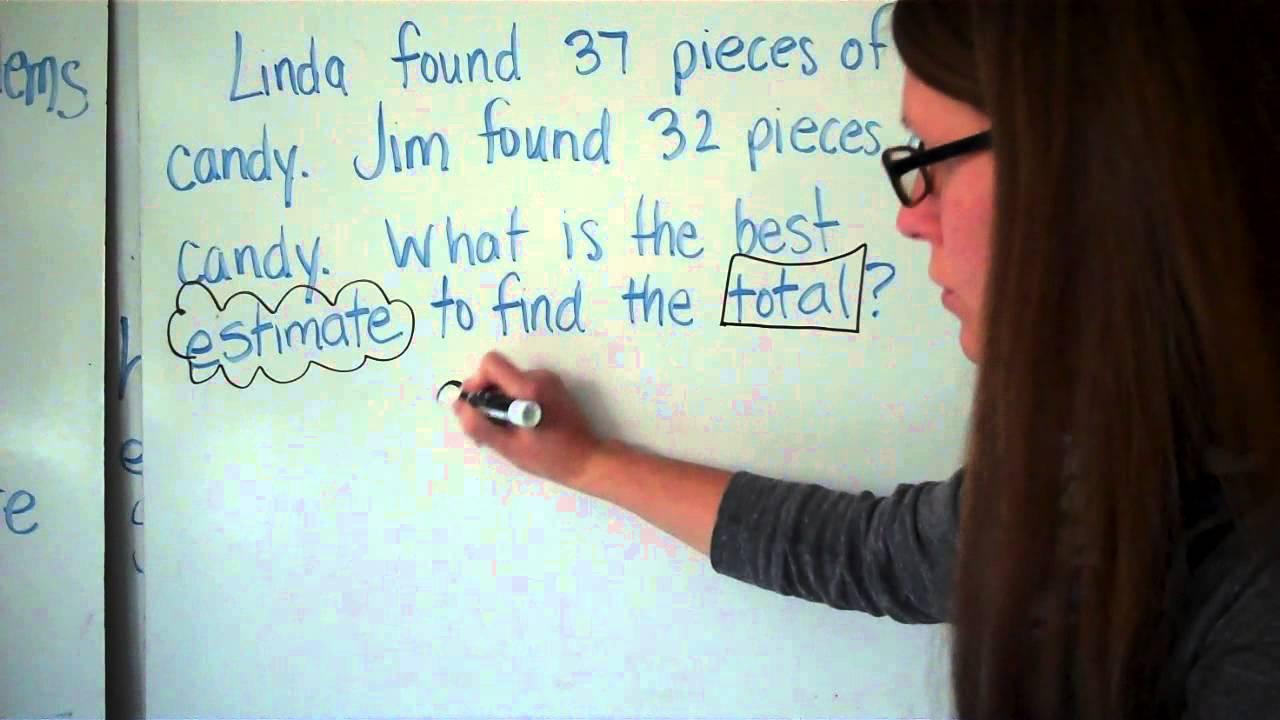 worksheet Estimation Word Problems best estimate word problems youtube