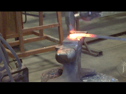 Wrought Iron Hand Forging | Artistic Iron Works, Las Vegas NV
