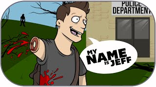 H1Z1 Funny Moments: Police Station Adventure \u0026 My Name is Jeff!