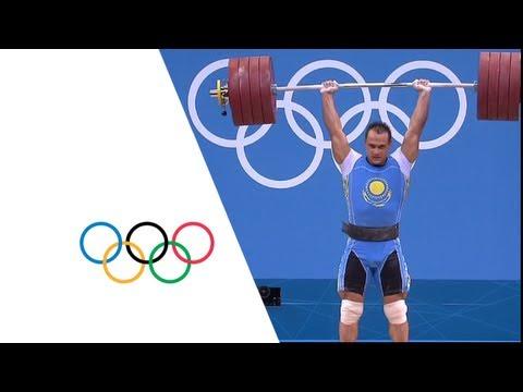 Ilya Ilyin Wins 94kg Weightlifting Gold - London 2012 Olympics