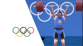 Ilya Ilyin Wins 94kg Weightlifting Gold - London 2012 Olympics