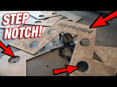 Building a Custom Step Notch From SCRATCH! Pt 1: Cutting The Plates