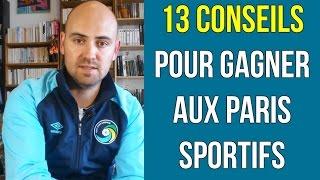 13 conseils pour gagner aux paris sportifs