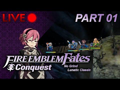 Fire Emblem: Fates :: Conquest :: No Grind Lunatic :: Part 01