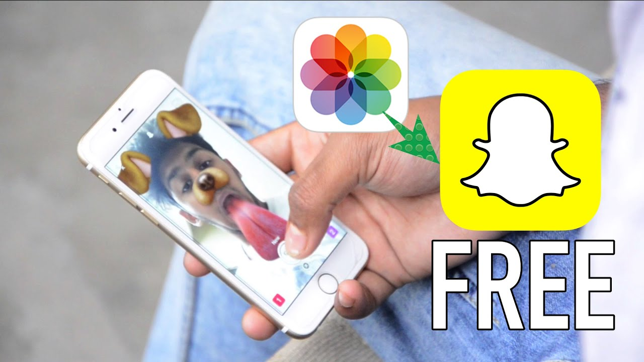How To Upload Photos & Videos To Snapchat Story From Camera Roll For Free!   Youtube