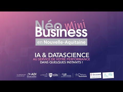 LIVE - MINI NEOBUSINESS : IA & Datascience au service de votre performance - 12 juillet 10h30 -
