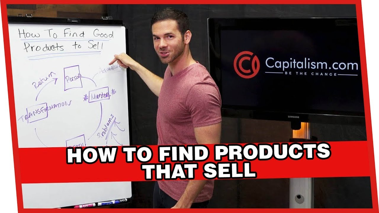 how to find products to sell