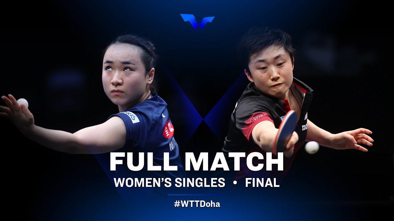 Download Mima Ito vs Feng Tianwei   WTT Star Contender Doha 2021 - March (FULL Match)