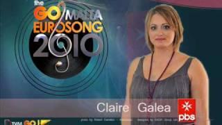 Malta Eurosong 2010 - Claire Galea - Ole Satchmo blues